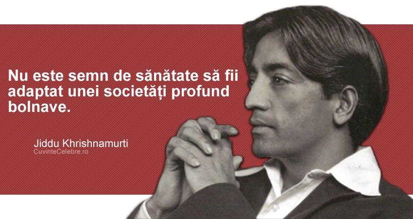 Citat Jiddu Krishnamurti