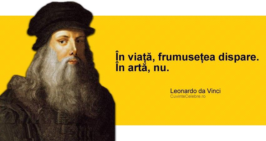 citate celebre despre pictura Citate Leonardo da Vinci citate celebre despre pictura