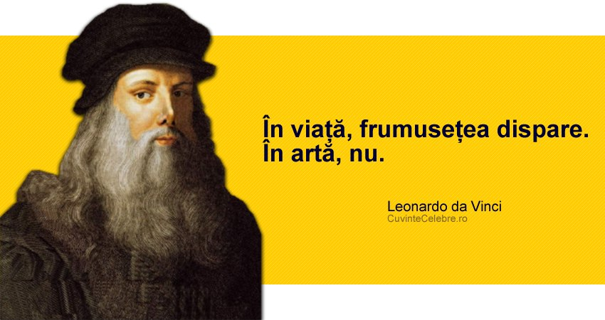 Citat Leonardo da Vinci