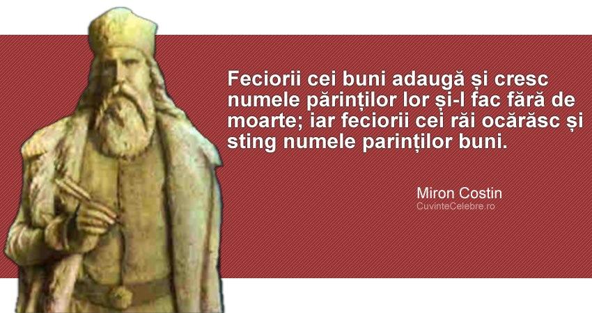 Citat Miron Costin