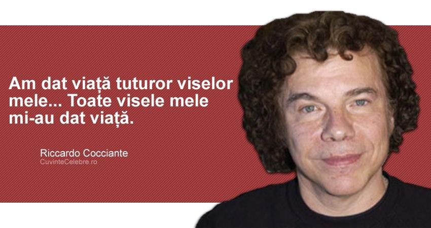 Citat Riccardo Cocciante
