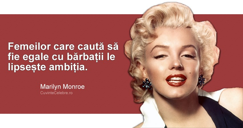 Citate Marilyn Monroe