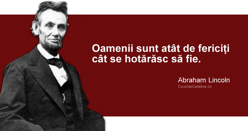 Imagini pentru citate Abraham Lincoln