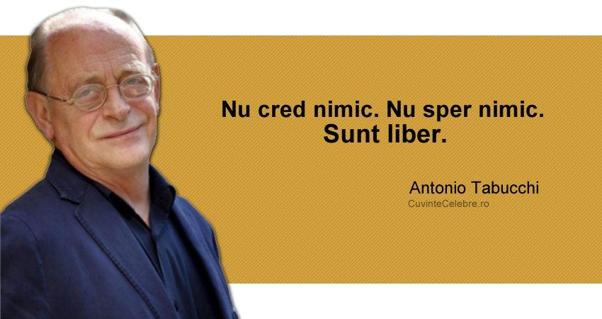 Citat Antonio Tabucchi