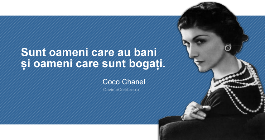 Citaten Coco Chanel : Citate de coco chanel