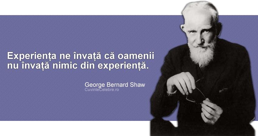 Citat George Bernard Shaw