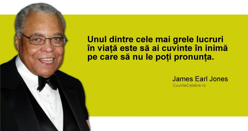 Citat James Earl Jones