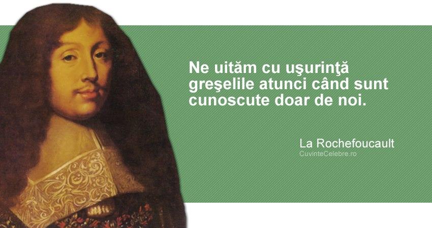 Citat La Rochefoucault
