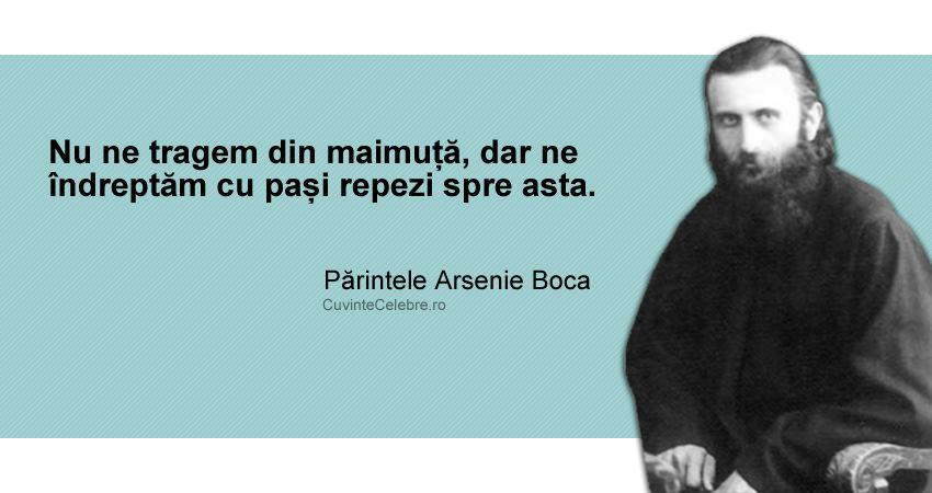 Citat Parintele Arsenie Boca
