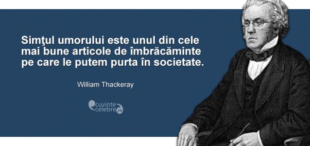 citate despre imbracaminte Cea mai chic ținută, citat de William Thackeray citate despre imbracaminte
