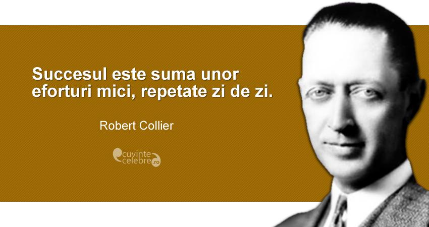 citate despre dezvoltare Citate de Robert Collier citate despre dezvoltare