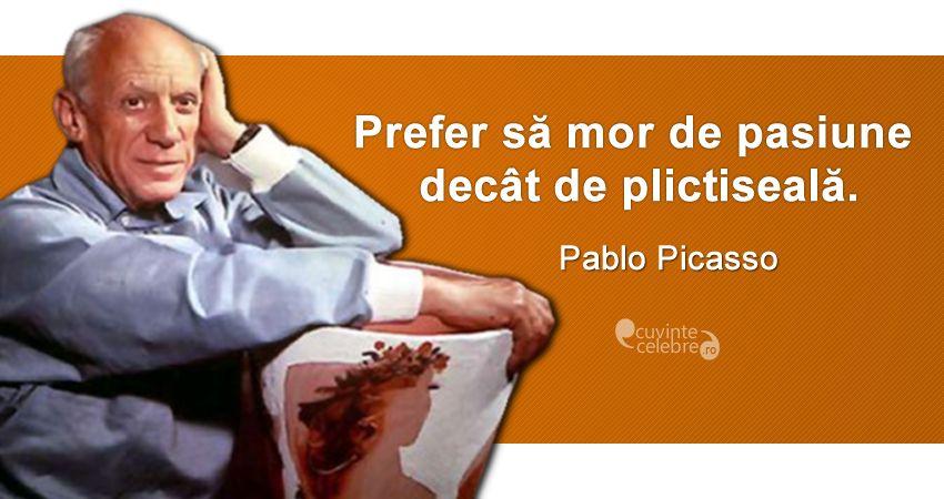 Citat Pablo Picasso