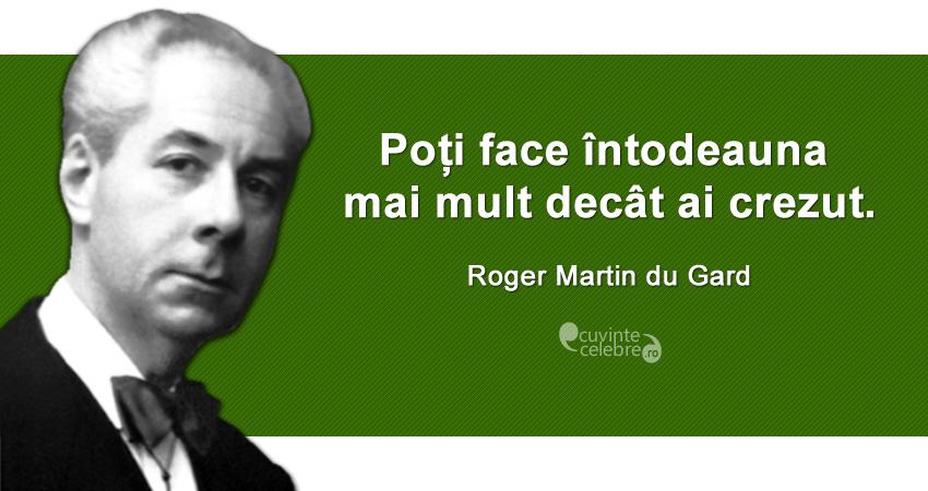 Citat Roger Martin du Gard
