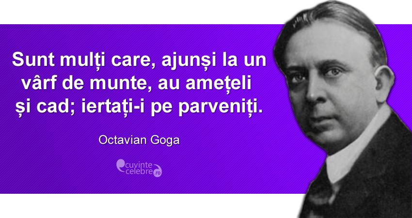 Citat de Octavian Goga