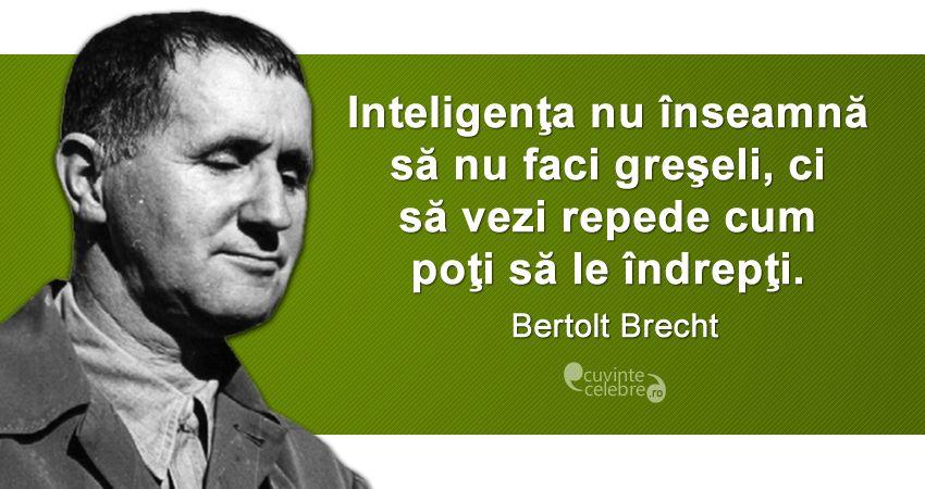 Citat de Bertolt Brecht