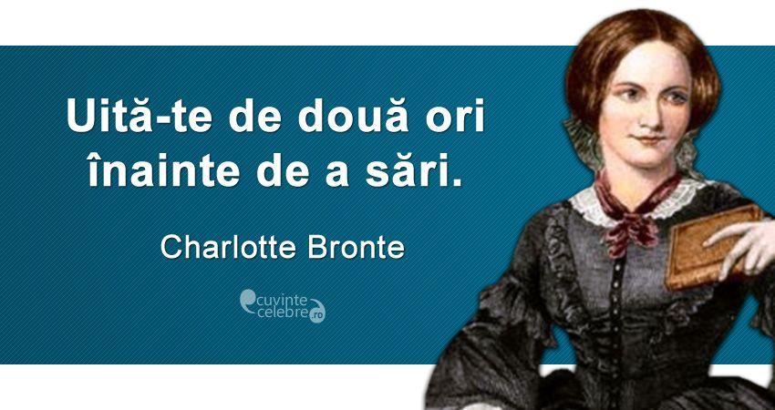 Citat Charlotte Bronte