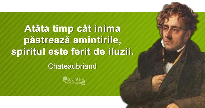 Citat Chateaubriand