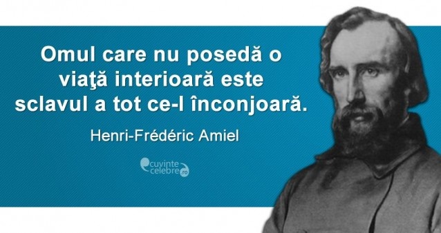 Citat Henri Frederic Amiel