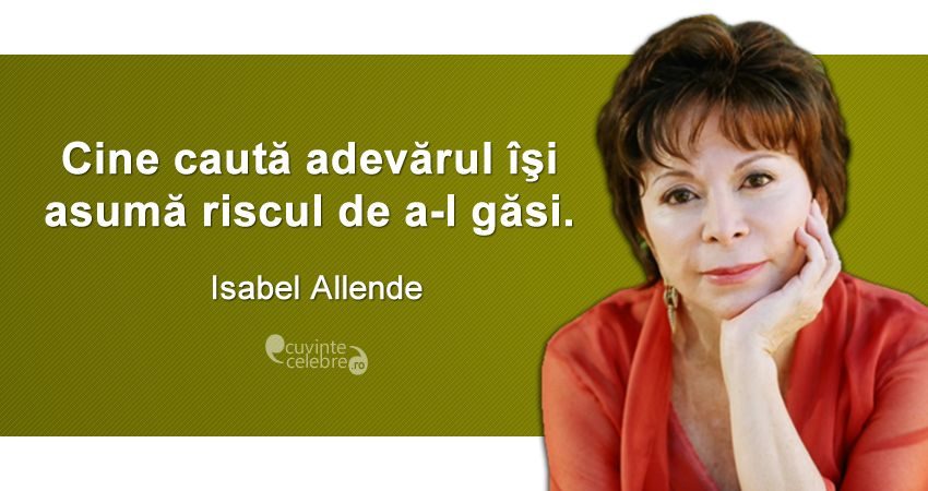 Citat Isabel Allende