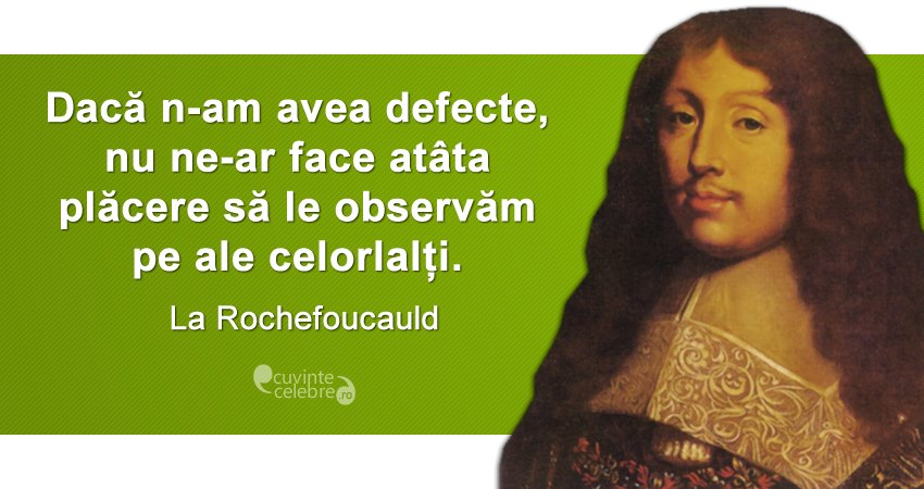 Citat La Rochefoucauld