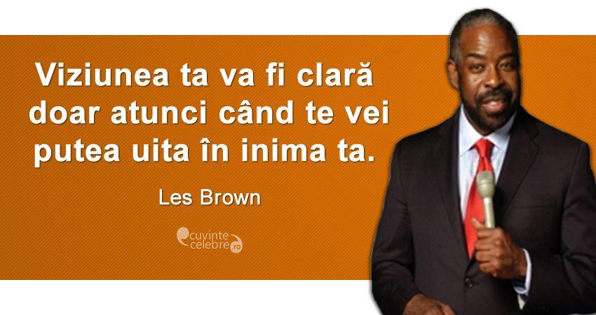 Citat Les Brown