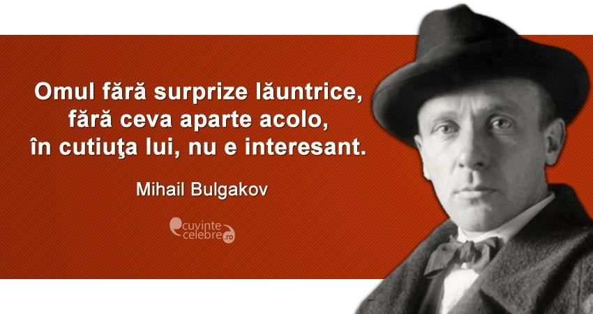 Citat Mihail Bulgakov
