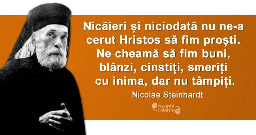 Citat Nicolae Steinhardt
