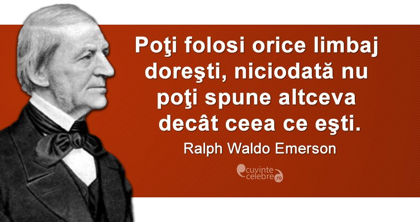 Citat Ralph Waldo Emerson.