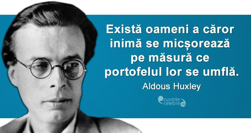 Citat Aldous Huxley