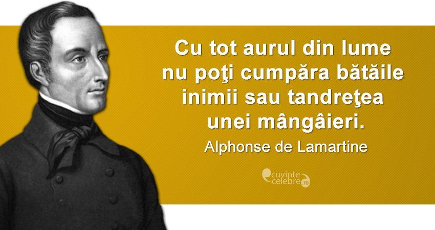 Citat Alphonse de Lamartine