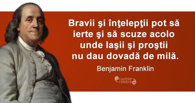 Citat Benjamin Franklin