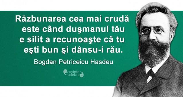 Citat Bogdan Petriceicu Hasdeu