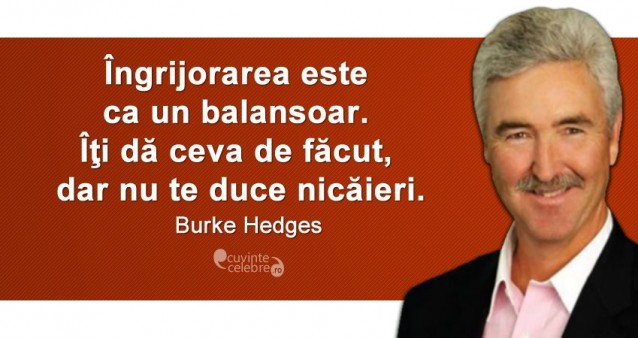 Citat Burke Hedges