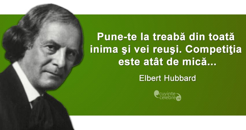 Citat Elbert Hubbard