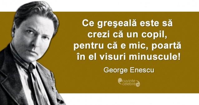 Citat George Enescu
