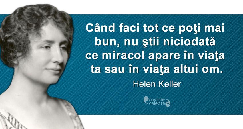 Citat Helen Keller