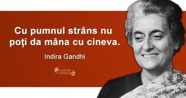 Citat Indira Gandhi