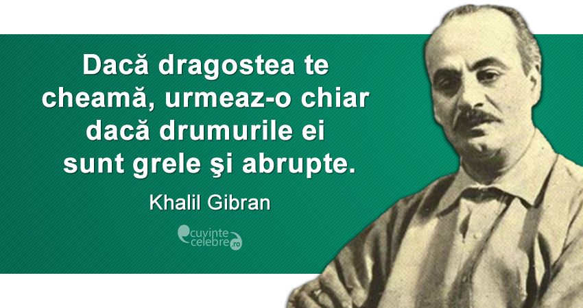 Citat Khalil Gibran