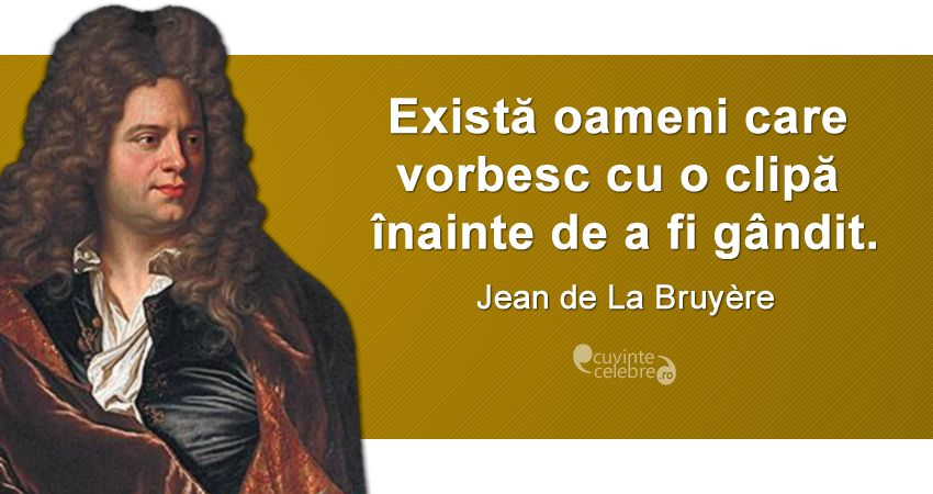 Citat La Bruyere