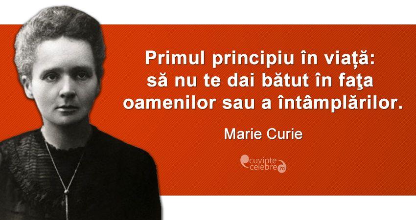 Citat Marie Curie