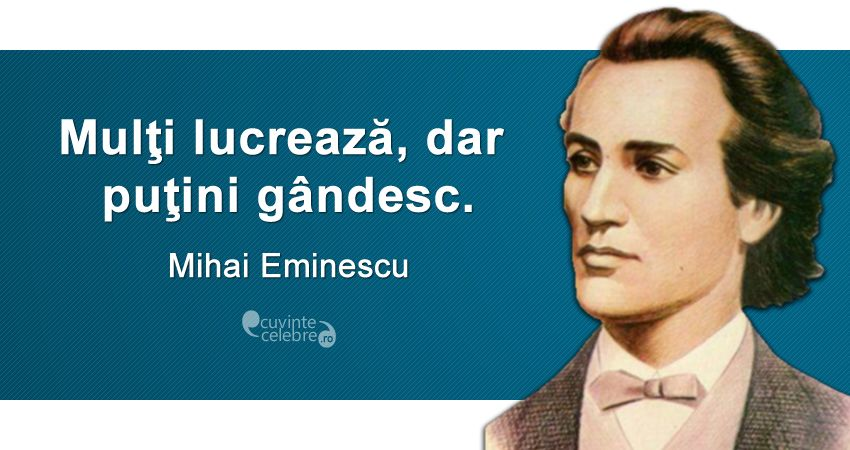 Citat Mihai Eminescu