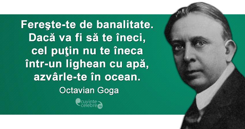 Citat Octavian Goga