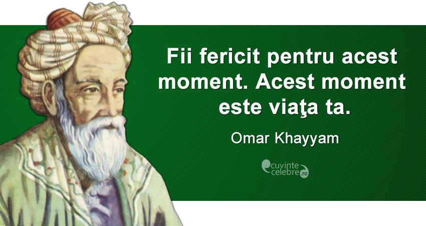 after a momentary silence spake some v by omar khayyam
