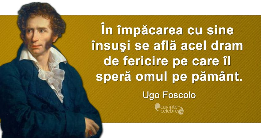 Citat Ugo Foscolo