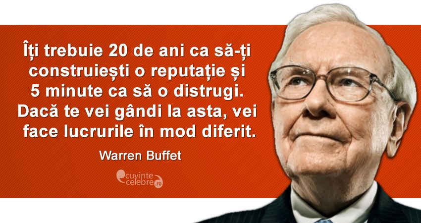 Citat Warren Buffet