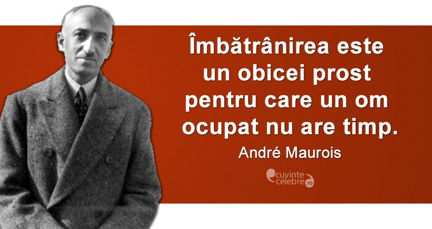 Citat Andre Maurois