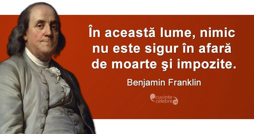 Imagini pentru citate celebre benjamin franklin