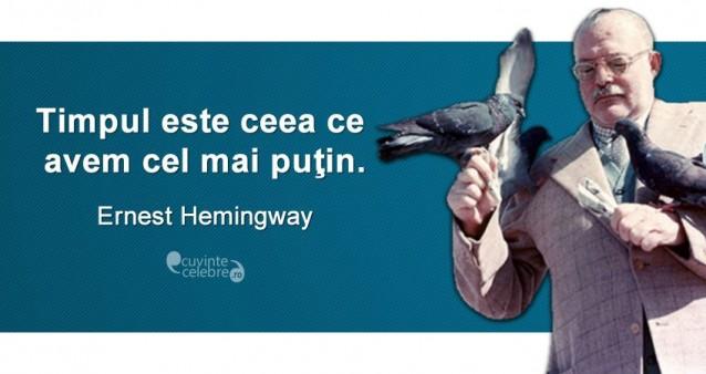 Citat Ernest Hemingway