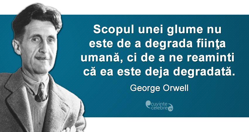 Citat George Orwell.
