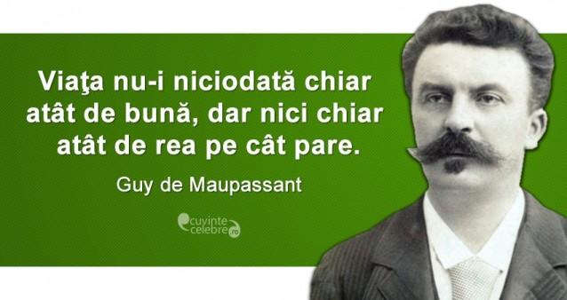 Citat Guy de Maupassant